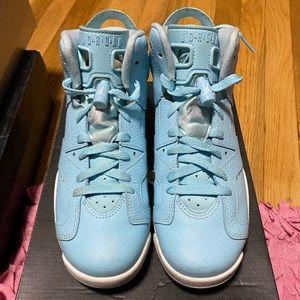 Jordan Light Blue 6's
